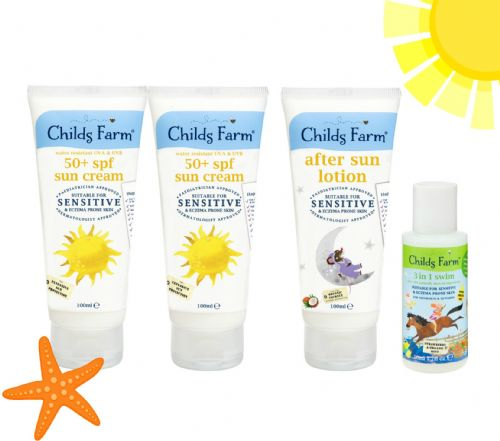 Fun in the Sun Kit - Sun Cream, After Sun & FREE 50ml 3-in1 Hair & Body Wash!